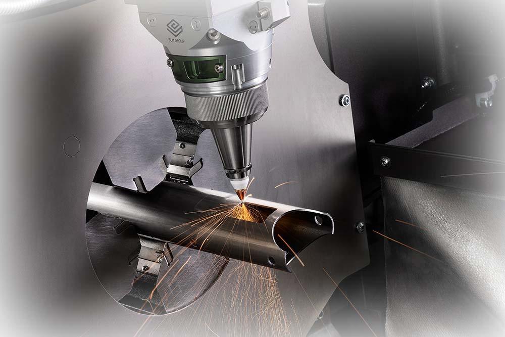 Taglio Laser Fibra: da Ø 10 a Ø 152,4 mm